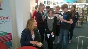 Our young adult cafe event with Sophie Crockett and led by Felixstowe Academy book group