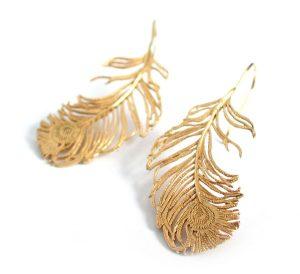 Peacock-Earrings