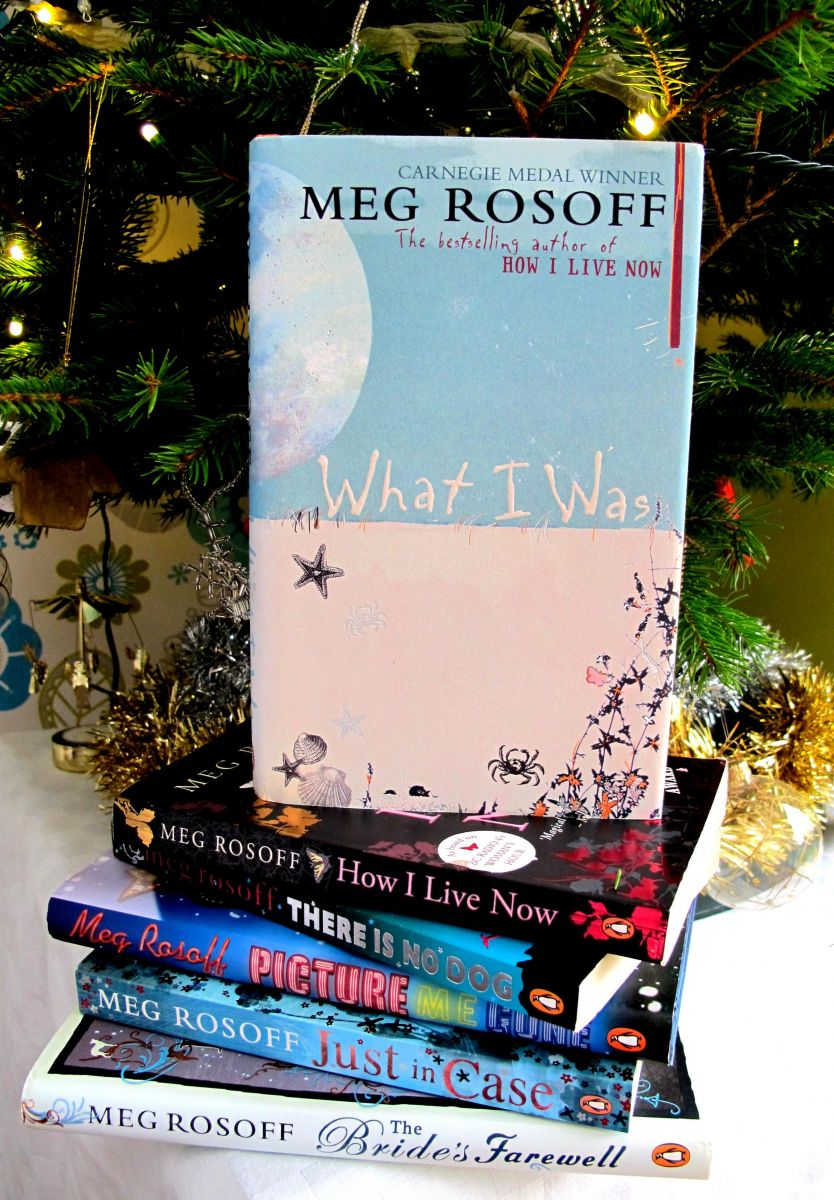 Discovering one of Meg's books under your tree would be a real treat!