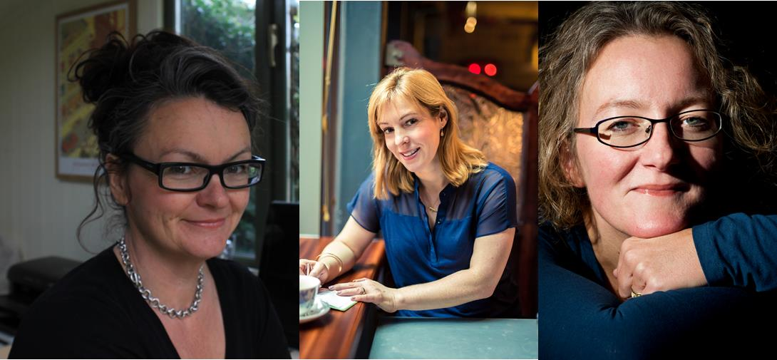 Julia Crouch, Ruth Dugdall, Elizabeth Haynes
